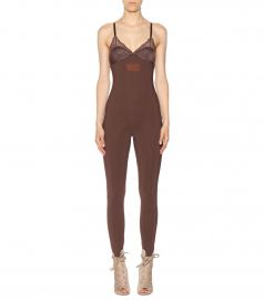 Lace-trimmed jumpsuit by Fenty by Rihanna at My Theresa