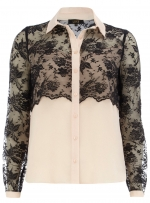 Lace yoke top from Dorothy Perkins at Dorothy Perkins