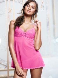 da996b4f5f2 WornOnTV  Penny s pink babydoll chemise on The Big Bang Theory ...