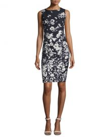 Lafayette 148 New York Evelyn Augusto Impression Floral-Print at Neiman Marcus