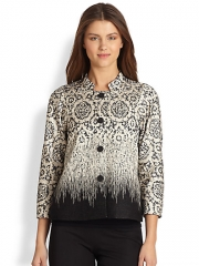 Lafayette 148 New York - Carmina Jacquard Jacket at Saks Fifth Avenue