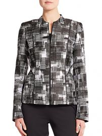 Lafayette 148 New York - Graphic-Print Jacket at Saks Fifth Avenue