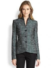 Lafayette 148 New York - Jacquard Structured Jacket at Saks Fifth Avenue