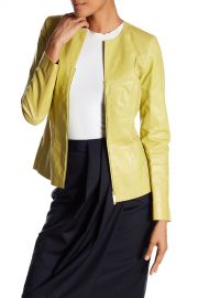Lafayette 148 New York   Maris Leather Jacket   Nordstrom Rack at Nordstrom Rack