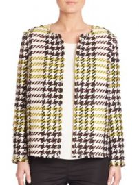 Lafayette 148 New York - Windsor Plaid Dani Jacket at Saks Off 5th