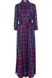 Lagence plaid shirtdress at The Outnet