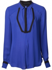 Lamb Classic Sheer Collared Shirt - at Farfetch