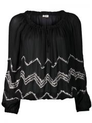 Land39agence Beaded Blouse - at Farfetch