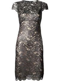 Land39agence Metallic Lace Dress - at Farfetch