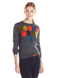 Landon Sweater by Trina Turk in Charcoal at Amazon