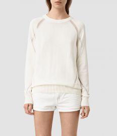 Lanta Sweater Chalk White at All Saints