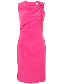Lanvin Fitted Mid-length Dress at Farfetch