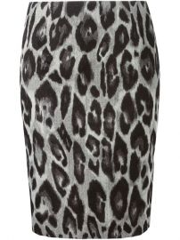 Lanvin Leopard Skirt - The Webster at Farfetch