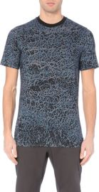 Lanvin Mottled Effect Print Tshirt at Selfridges
