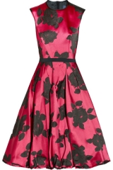 Lanvin floral jacquard dress at Net A Porter