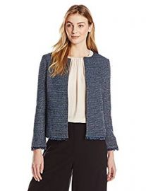 Lark  amp  Ro Women s Tweed Jacket at Amazon