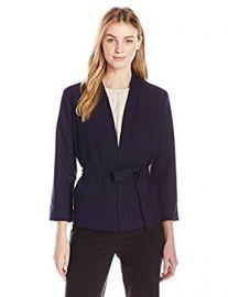 Lark  amp  Ro Women s Wrap Jacket at Amazon
