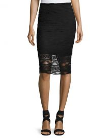 Laundry By Shelli Segal Lace Illusion Pencil Skirt at Lastcall