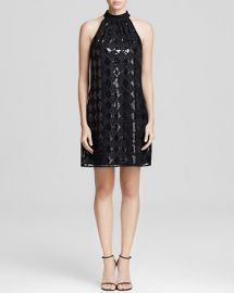 Laundry by Shelli Segal Dress - Sleeveless Sequin Trapeze Shift at Bloomingdales
