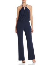Laundry by Shelli Segal Hardware Detail Jumpsuit at Bloomingdales