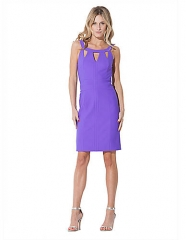 Laundry by Shelli Segal purple cutout dress at Lord & Taylor