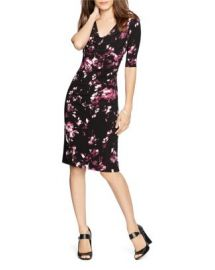 Lauren Ralph Lauren Cowlneck Floral Print Dress at Bloomingdales