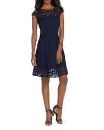 Lauren Ralph Lauren Lasercut Neoprene Dress at Bloomingdales