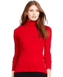 Lauren Ralph Lauren Ribbed Turtleneck Sweater at Macys