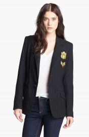 Laveer   x27 Revelry  x27  Elbow Patch Single Breasted Blazer at Nordstrom