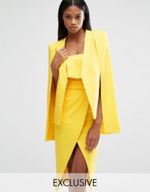 Lavish Alice  Lavish Alice Cape Blazer at Asos