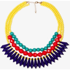 Layered Colorblock Necklace at Forever 21