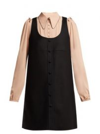 Layered pinafore dress at Matches