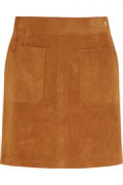 Le High suede mini skirt at The Outnet