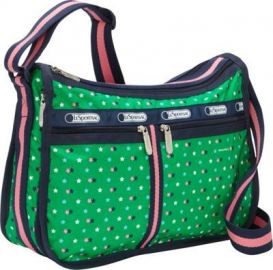LeSportsac Deluxe Everyday Bag in Green at Zappos