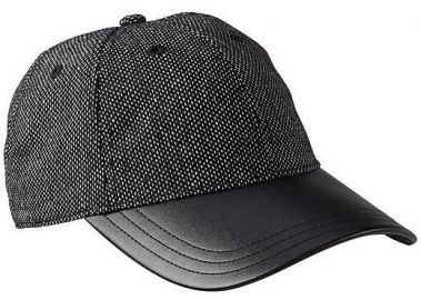 Leather Baseball Cap at Athleta