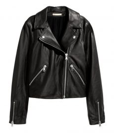 Leather Biker Jacket at H&M