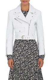 Leather Moto Jacket by Calvin Klein 205W39NYC  at Barneys