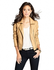 Leather jacket by Guess at Lord & Taylor