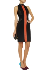 Leather paneled dress by Jason Wu at The Outnet