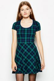 Leavette Knitted Skater Dress at Jack Wills