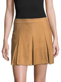 Lee Leather Suede Skirt  by Alice   Olivia at Gilt at Gilt