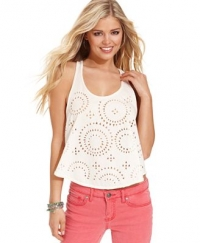 Leigh tank by Jessica Simpson at Macys