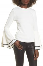 Leith Bell Sleeve Sweater at Nordstrom