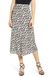 Leith Bias Cut Skirt at Nordstrom