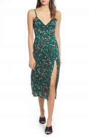 Leith Print Slipdress   Nordstrom at Nordstrom