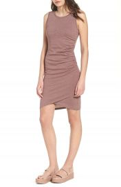 Leith Ruched Body-Con Tank Dress at Nordstrom