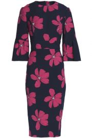 Lela Rose Floral Dress at The Outnet
