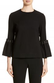 Lela Rose Pearly Trim Tunic at Nordstrom