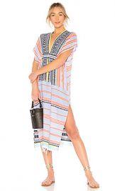 Lemlem Sofia Caftan Dress in Aqua from Revolve com at Revolve