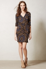 Lena wrap dress at Anthropologie